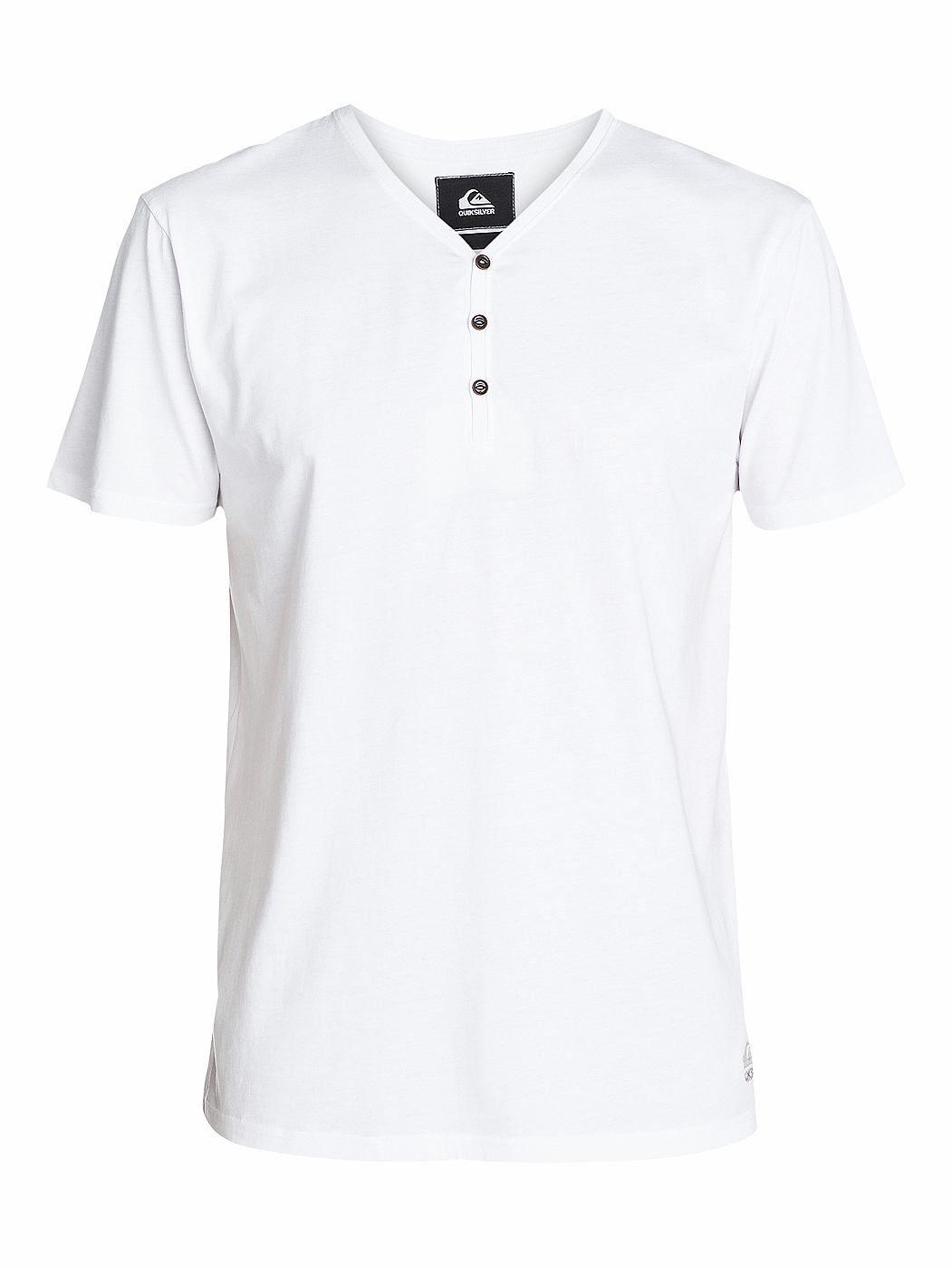 Shadow Kaibab - Kurzarm-T-Shirt für Männer  Wir sind stolz, dir das Shadow Kaibab von Quiksilver präsentieren zu können. Dieses T-Shirt ist Teil unserer erstklassigen Frühjahrskollektion 2015 und kommt mit folgenden Features: Baumwoll-Jersey, Stückfärbung und V-Ausschnitt mit Knopfleiste.  Merkmale:  Kurzarm-T-Shirt, Baumwoll-Jersey, Stückfärbung, V-Ausschnitt mit Knopfleiste, Leichtes Material...