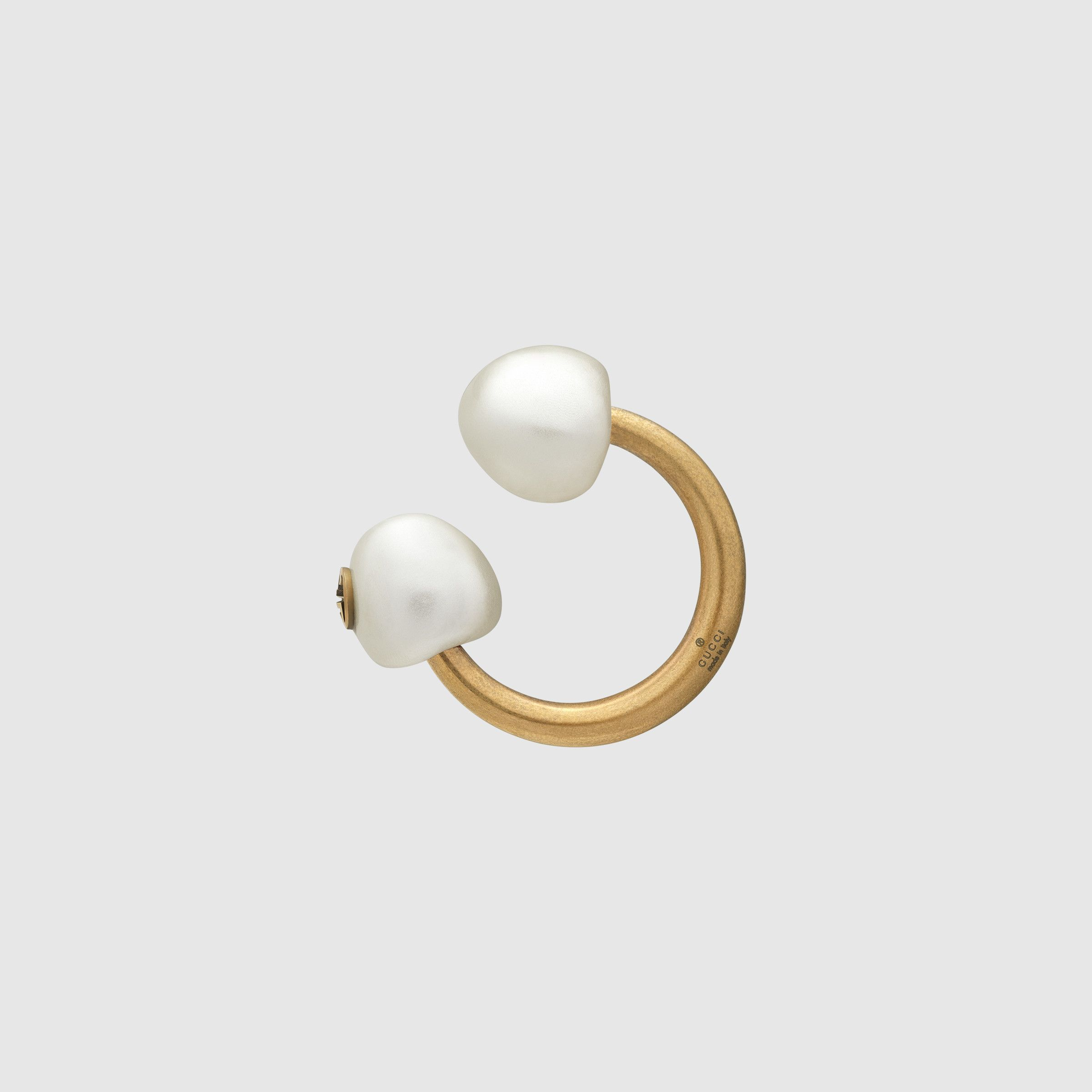 023a3c2735 Gucci Single earring with pearls Detail 2 | 16thBirthday | Gucci ...