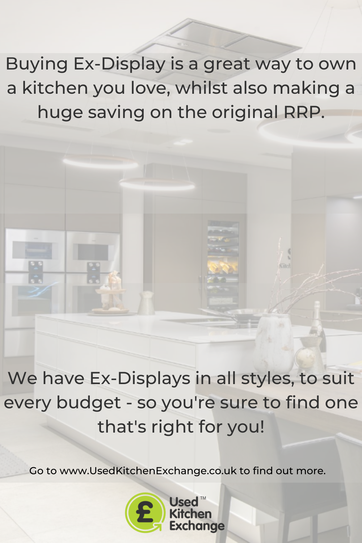 Buying Ex Display With Used Kitchen Exchange In 2020 Used Kitchen Cabinets Kitchen Units Display