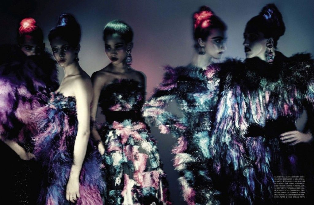 HAUTE COUTURE by Paolo Roversi Vogue Italia Haute Couture September 2015 IDsetters 7
