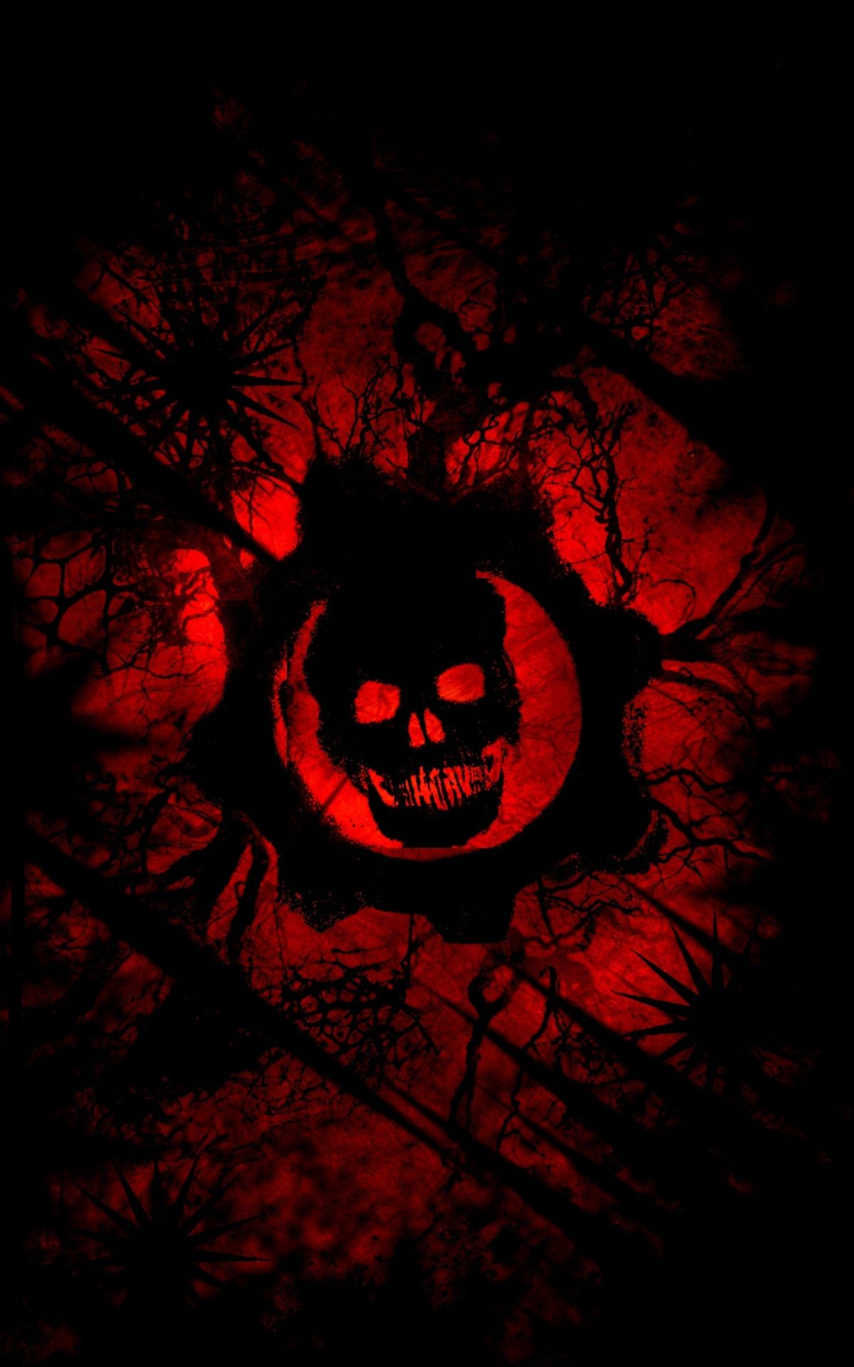 gears of war red wallpaper iphone - 2018 iphone wallpapers