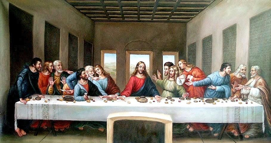La Derniere Cene Leonard De Vinci Last Supper Da Vinci Last Supper Famous Art