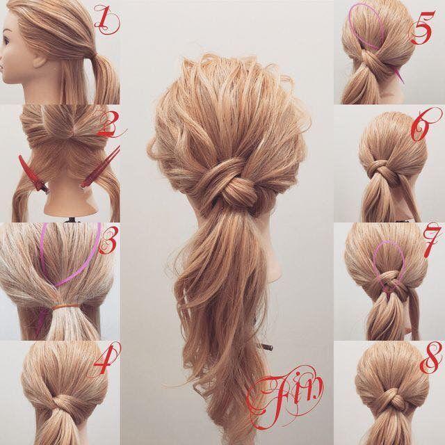 Use The Loop Tool To Pull Hair Through Hair Styles Long Hair Styles Hair Trends