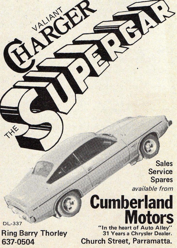 1976 Cumberland Motors VK Chrysler Valiant Charger Aussie Original ...