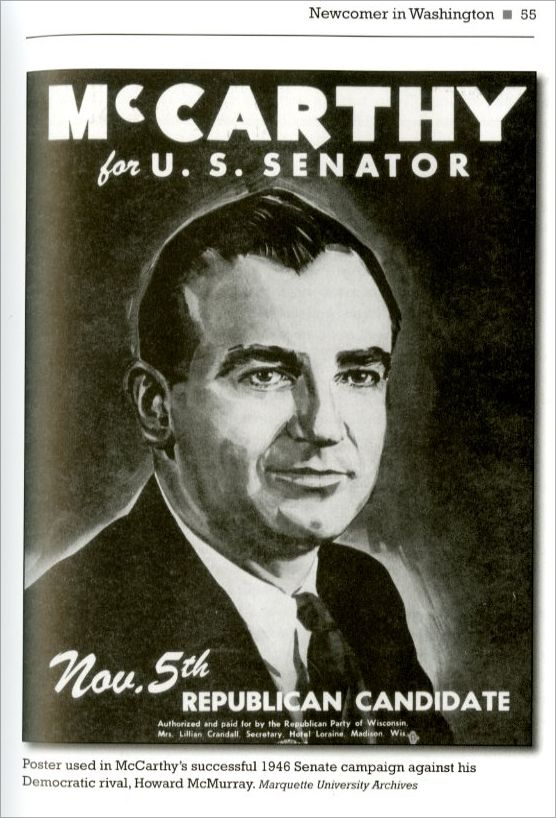 Joe McCarthy was the US senator and came up with the method