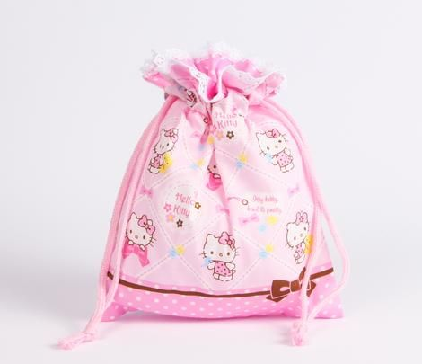 c20d7f2987 Hello Kitty Draw-String Bag  Lace