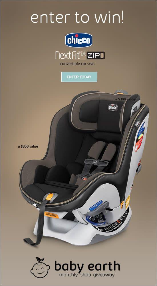 Win A ChiccoR NextFit IX Zip Convertible Car Seat