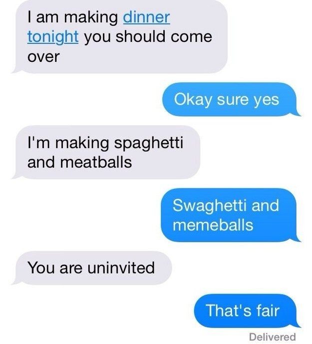 20 Texts That Require No Response