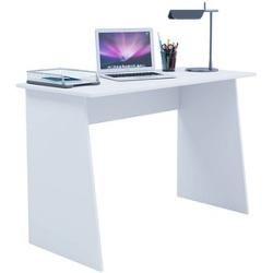 Vcm mein Büro Masola Maxi Schreibtisch weiß rechteckig