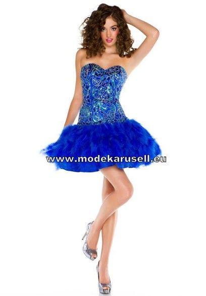 Boa Cocktailkleid Online in Blau | Blaue Kleider online kaufen ...