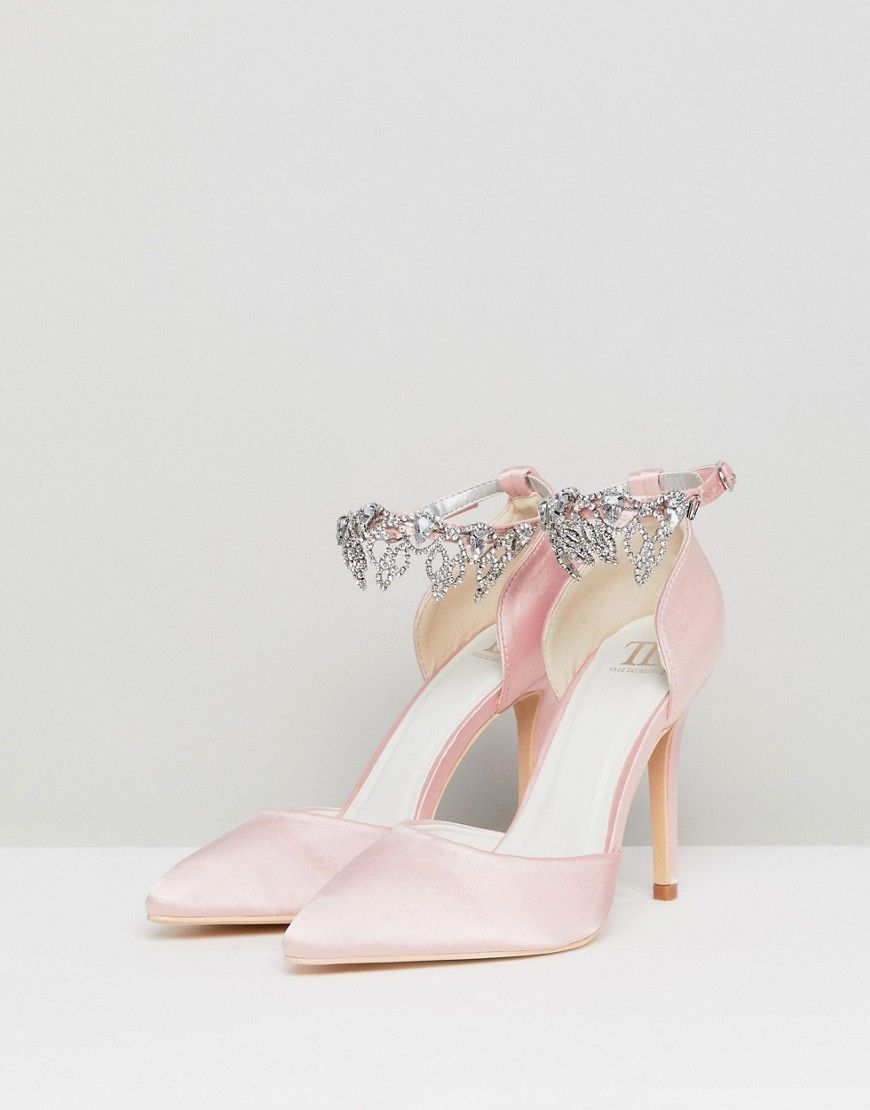 a2bd0fb0cd6 True Decadence Light Pink Embellished Pumps   classy shoes/sandle ...