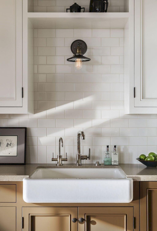 45 Best Farmhouse Kitchen Sink Decor Ideas