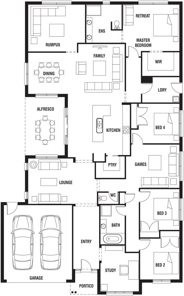 Porter davis homes floor plans carpet review for Davis homes floor plans