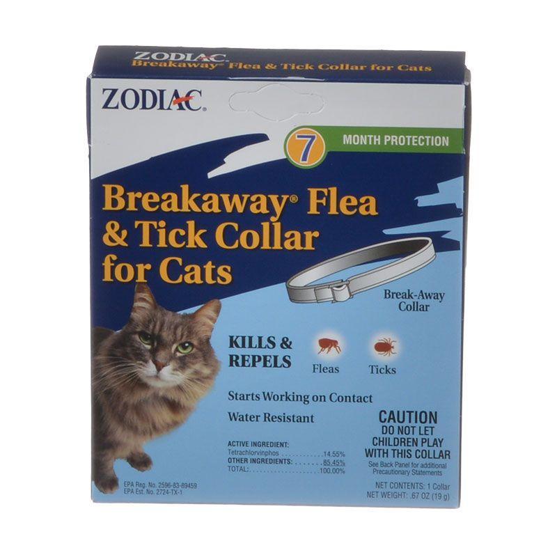 Breakaway flea tick collar for cats fleas cat fleas