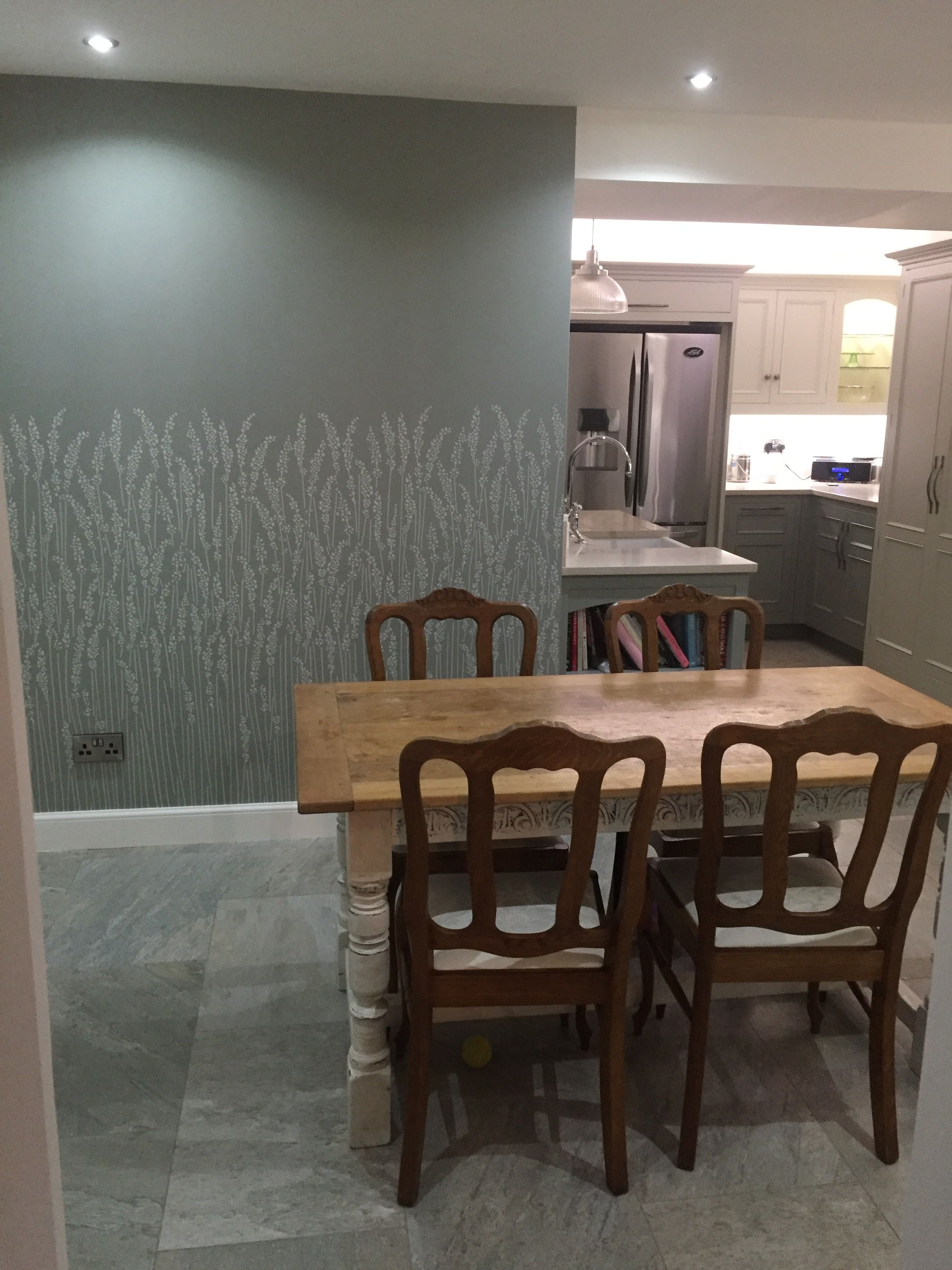 Best Our Kitchen Farrow And Ball Feather Grass Wallpaper 640 x 480