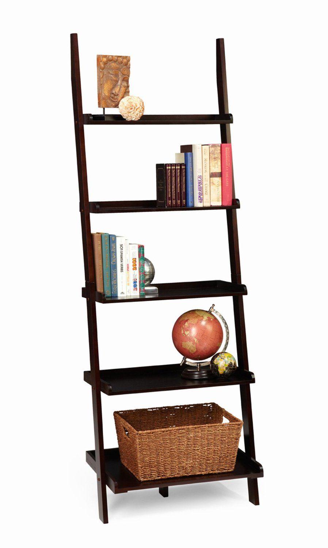 Amazon convenience concepts american heritage bookshelf ladder