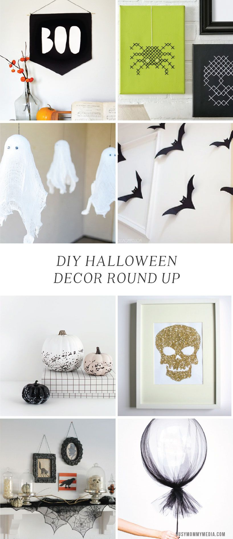 DIY Halloween Decor Round up | Grandmothers, Home-made Halloween and ...