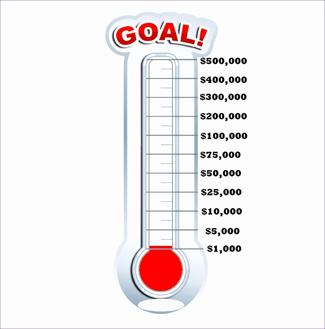 Goal Thermometer Template Excel Beautiful 9 Fundraising Thermometer Templa Goal Thermometer Templates Fundraising Thermometer Templates Fundraising Thermometer