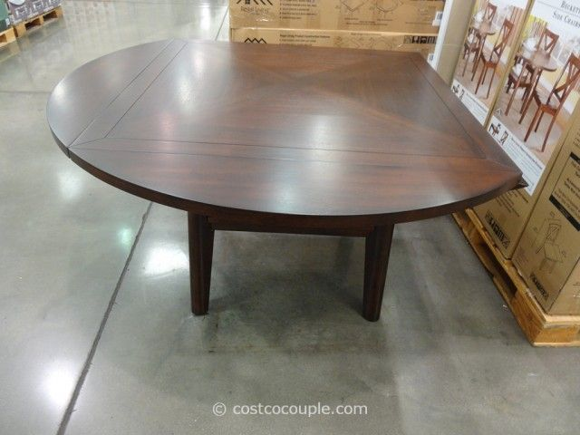 Regal Living Beckett Drop Leaf Dining Table Costco  Creation Fascinating Dining Room Sets Costco Inspiration Design