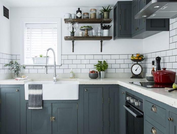 ▷ 1001 + astuces et idées pour aménager une cuisine en L Pinterest