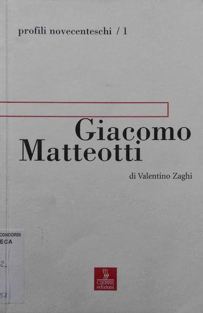 Giacomo Matteotti, Valentino Zaghi