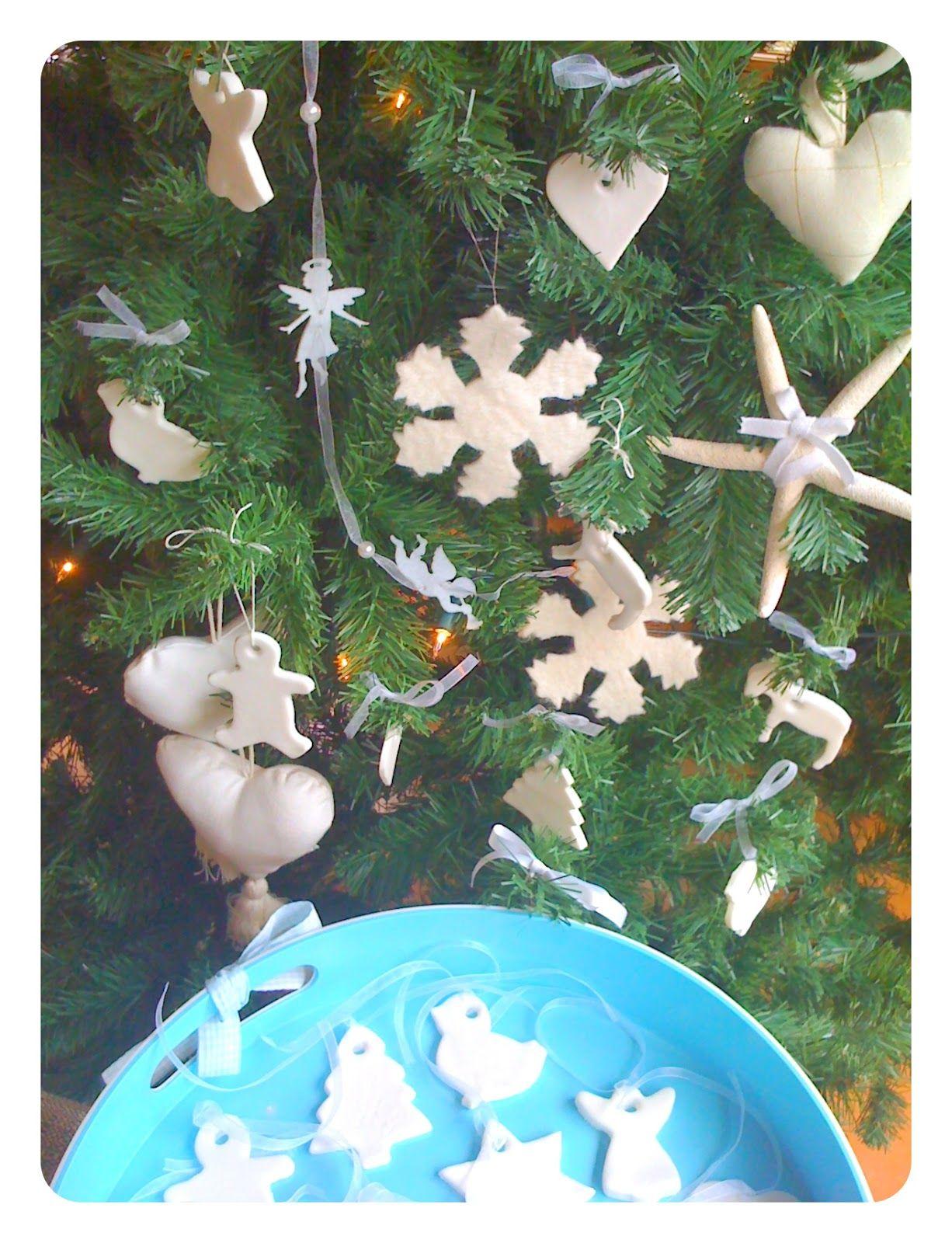 Alessandra Zecchini White Christmas Tree Decorations Made White Christmas Tree Decorations Christmas Tree Decorations White Christmas Tree