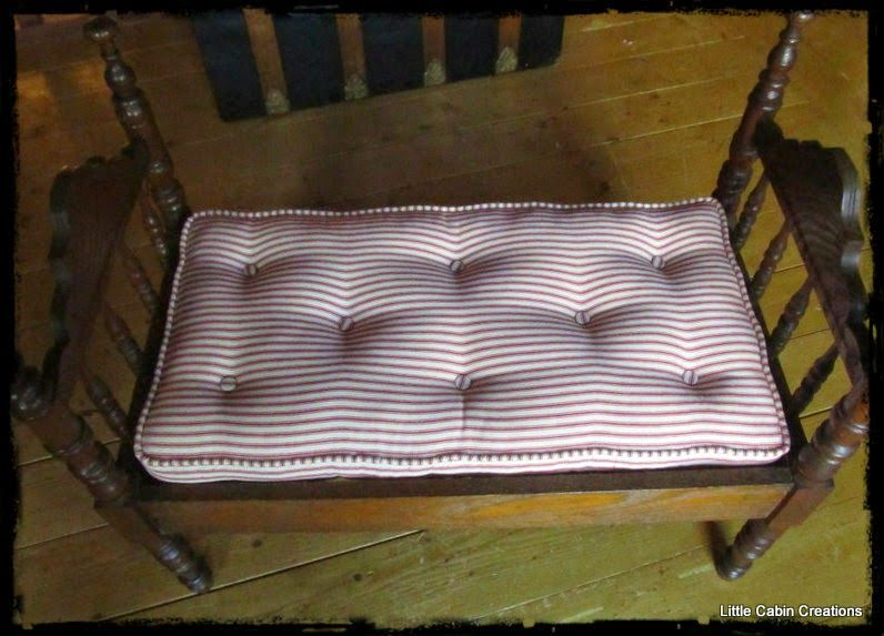 Make Do Dolls Tutorial How To Make A Tufted Doll Bed Mattress With