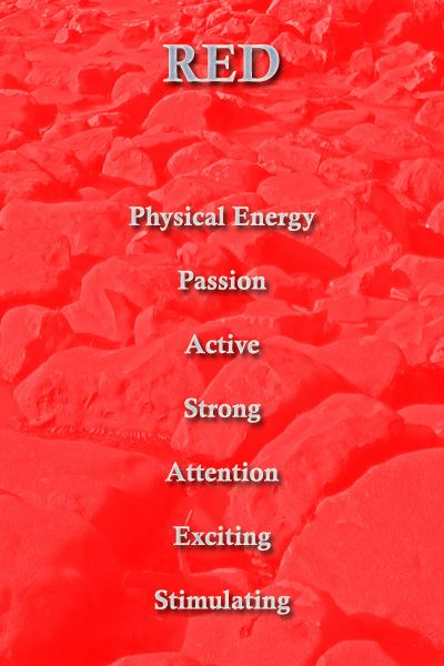 Personality Meaning Of Red Color Meaning Personality Color Meanings Color Psychology