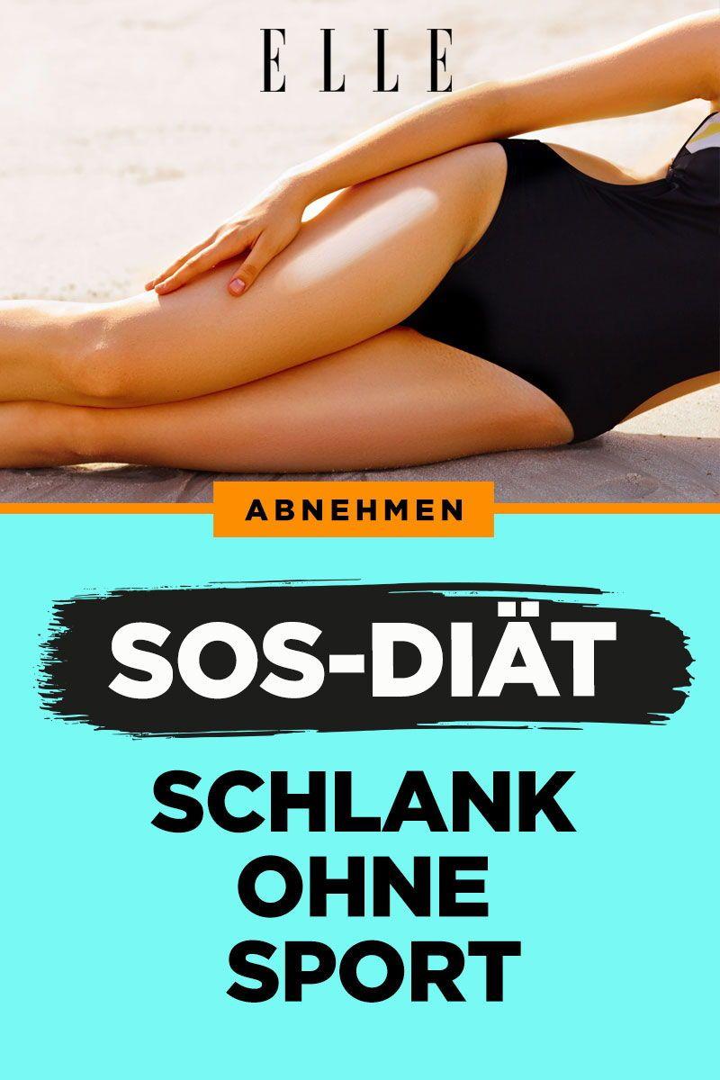 Schlank ohne Sport? Das steckt hinter der SOS-Diät!