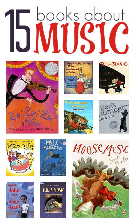 Books About Music For Kids Music With Children Music For Kids