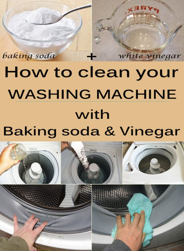 How To Clean Your Washing Machine With Baking Soda And Vinegar