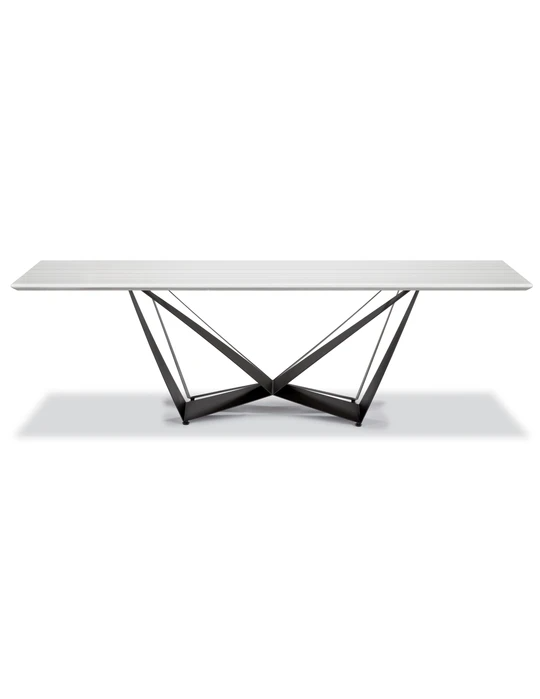 W Marble Dining Table Lievo In 2020 Marble Dining Dining