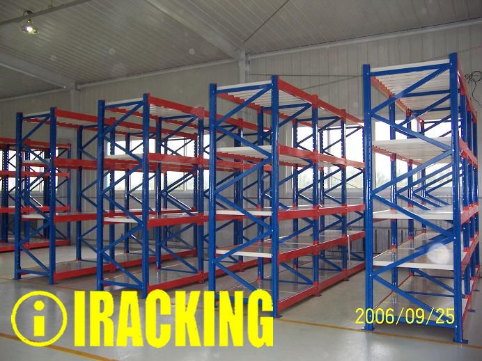 Hot Item Stacking Rack System With Pallet Base And 3 Sided Frames