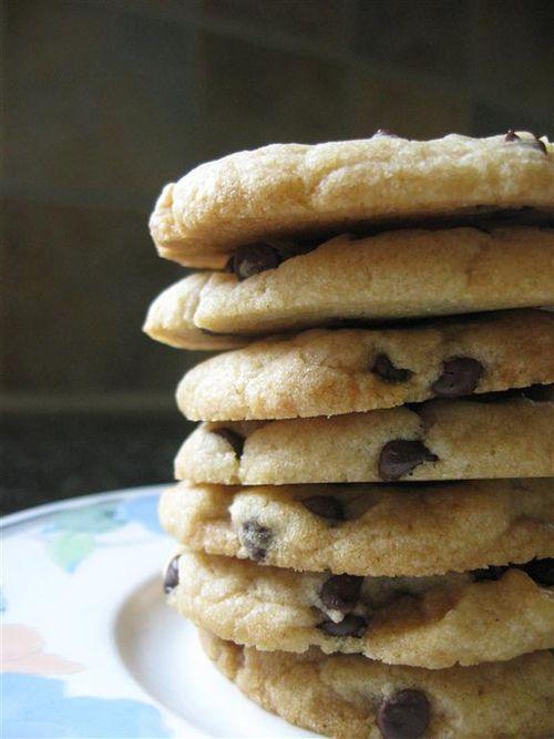 vegan chocolate chip cookies that taste really, really good