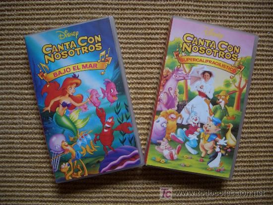 Disney Sing Along Songs Under The Sea And Supercalifragilisticexpialidocious Spanish Spain Sing Along Songs Jewish Books Disney