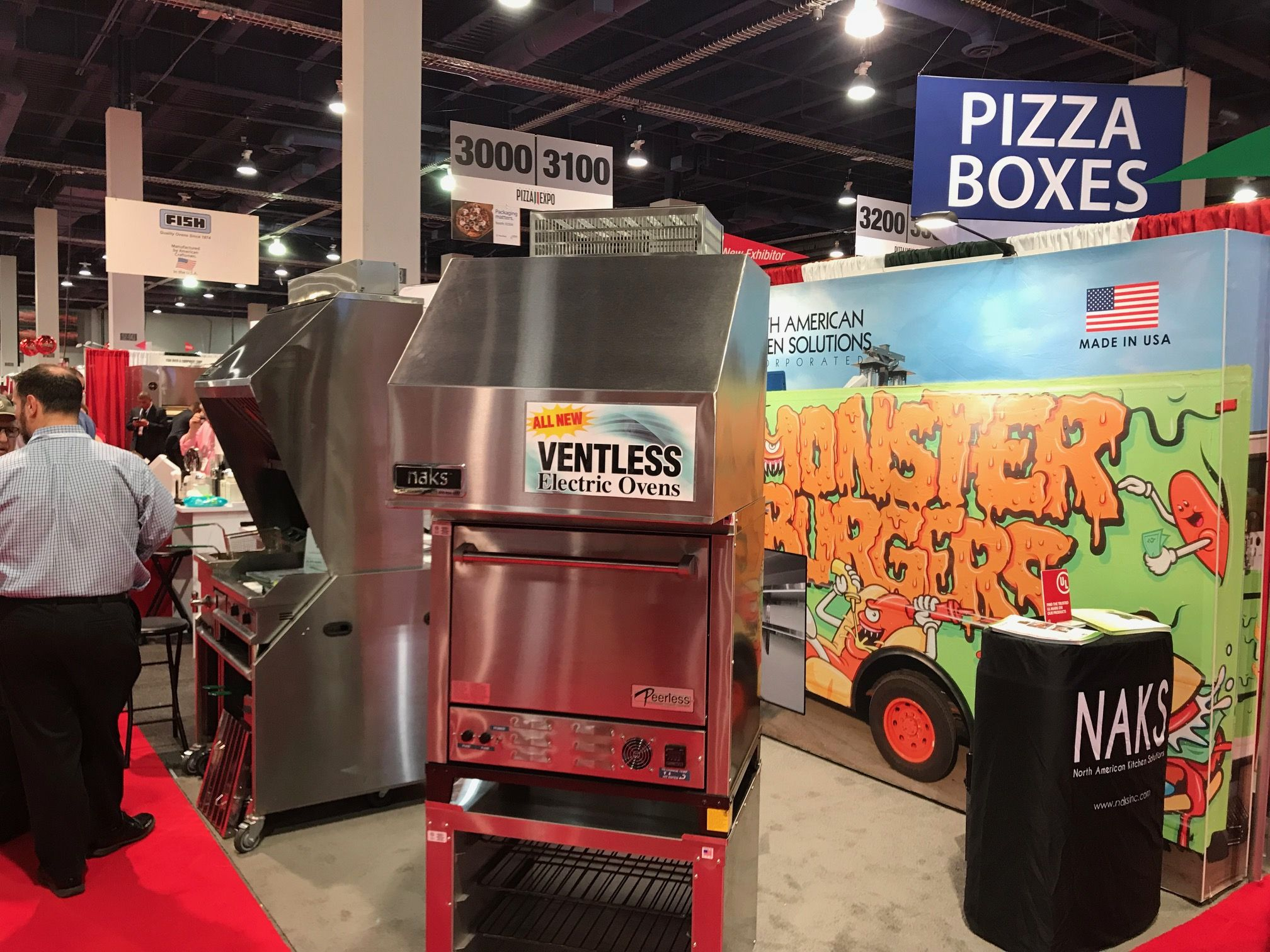 Pizza Expo 2018 at the Las Vegas Convention Center