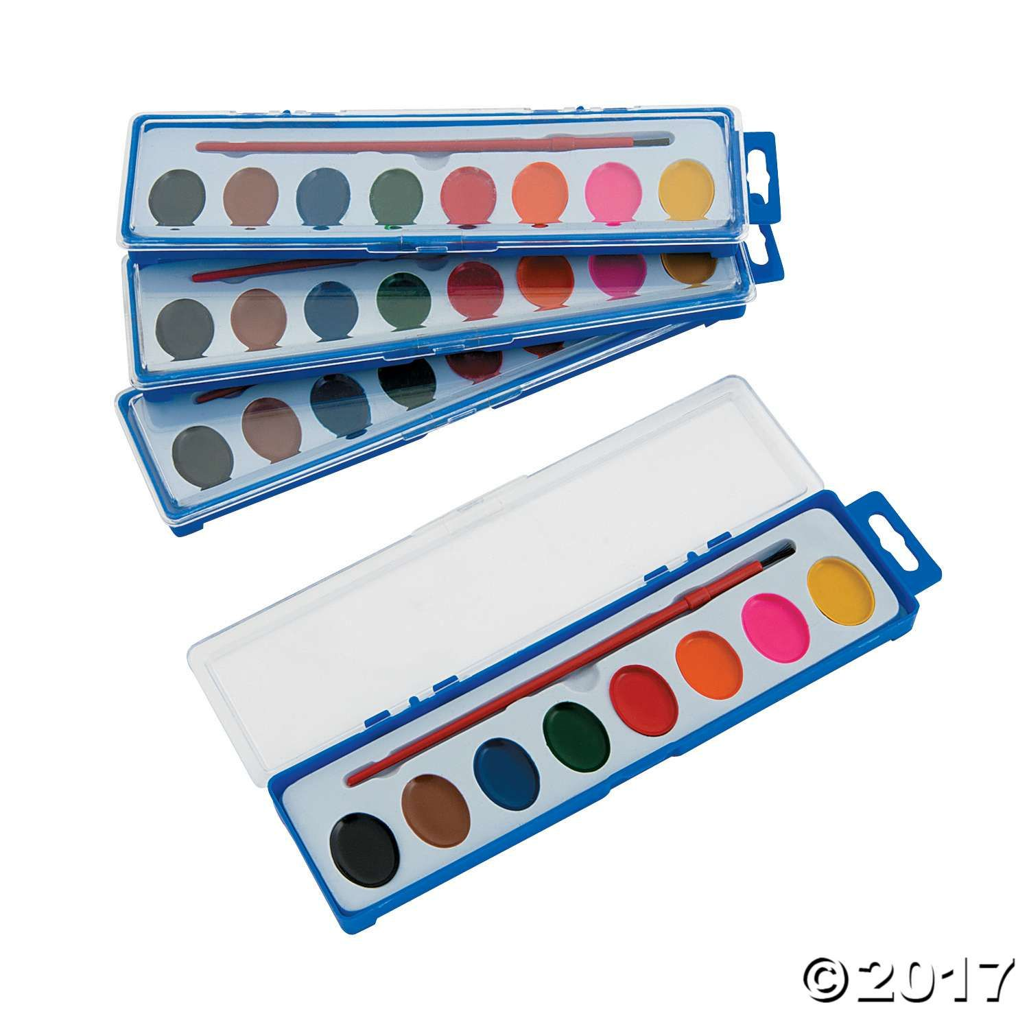 Reflections Participation Reward Watercolor Paint Tray Classpack