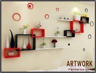 ديكور خشب للمنزل اعمال اشغال يدوية بالخشب Wall Shelves Living Room Wall Shelves Design Floating Shelves