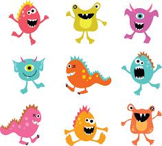 resultado de imagen para dibujos monstruos color baileys book