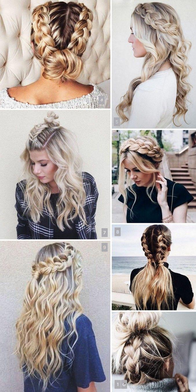 22 Penteados com Tranças Lindos e Populares no Pinterest | Hair ...