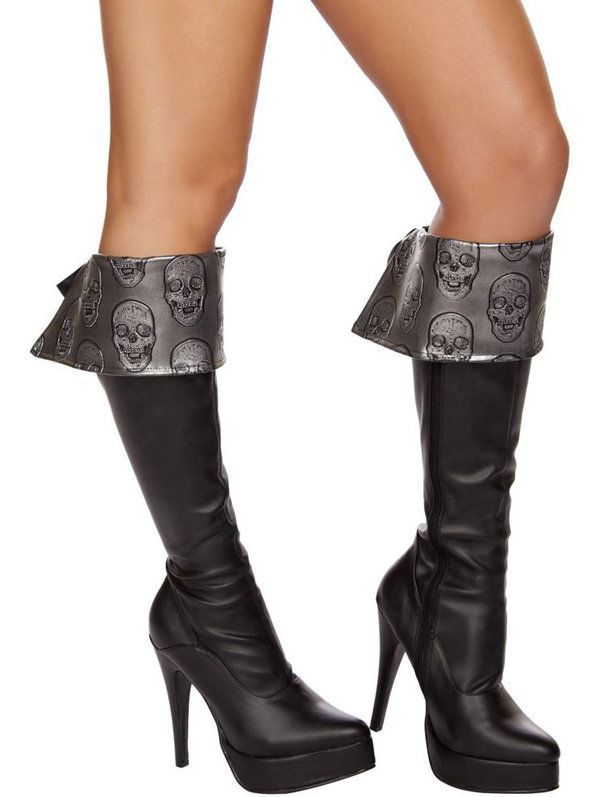 Check out Sexy Deadly Pirate Boot Cuffs - Costume Accessories for ...