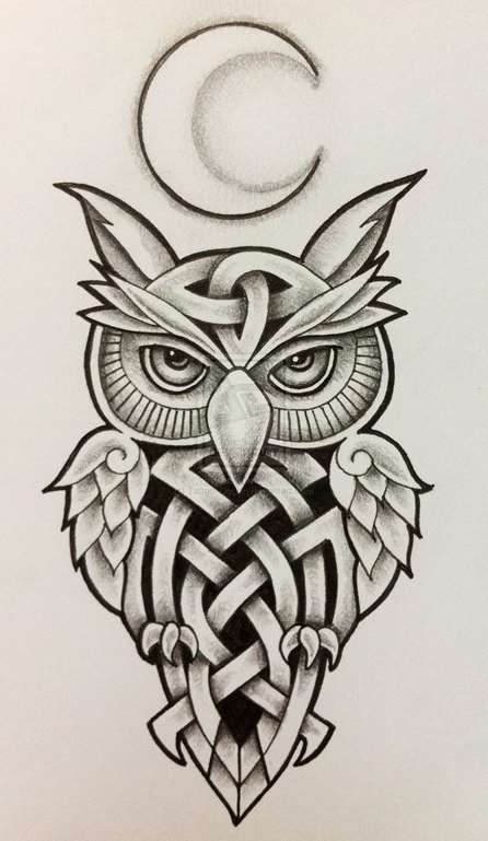 e46224bf17c54 Celtic Owl Tattoo - Tattoo Shortlist | Tattoo | Owl tattoo design ...