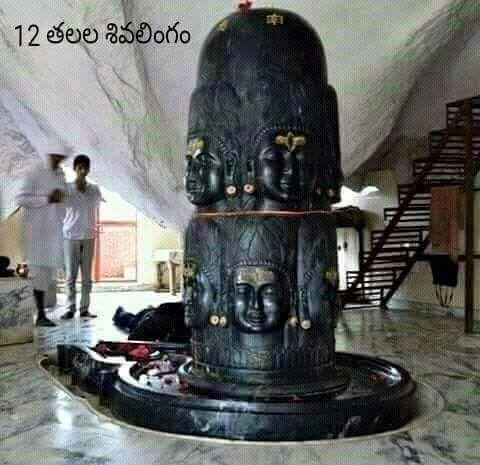 12 heads shivalingam