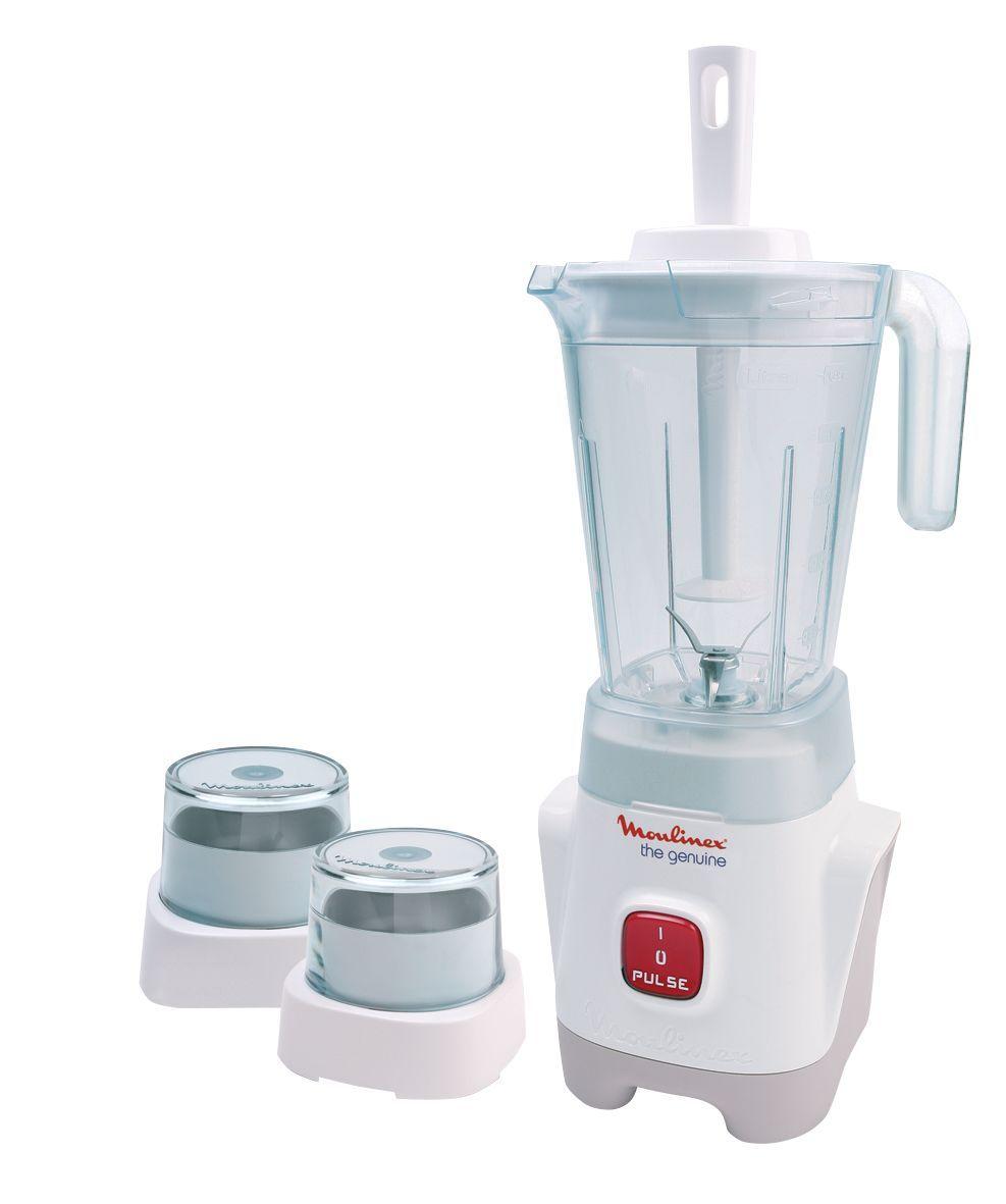 Moulinex Blender 1 25 Liter Jar Capacity 400 Watts Lm2421eg خلاط سطح الطاولة بلاستيك من مولينكس الموديل Lm2421eg خل Blender Hand Blender Making Baby Food