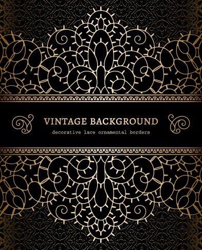 Vector Set Of Vintage Luxury Background Design 04 Vector Background Free Download Luxury Background Background Design Background Vintage