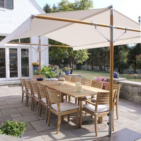Outdoor shade canopy DIY Toldo terraza, Ideas terraza, Techos