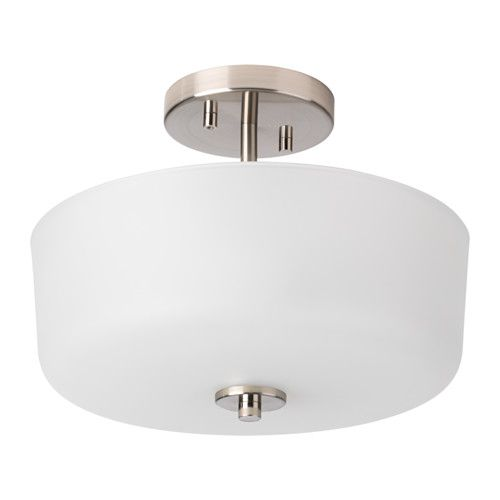 Ikea Karryd Glass White Ceiling Lamp Ceiling Lamp Ceiling Lights Room Lamp