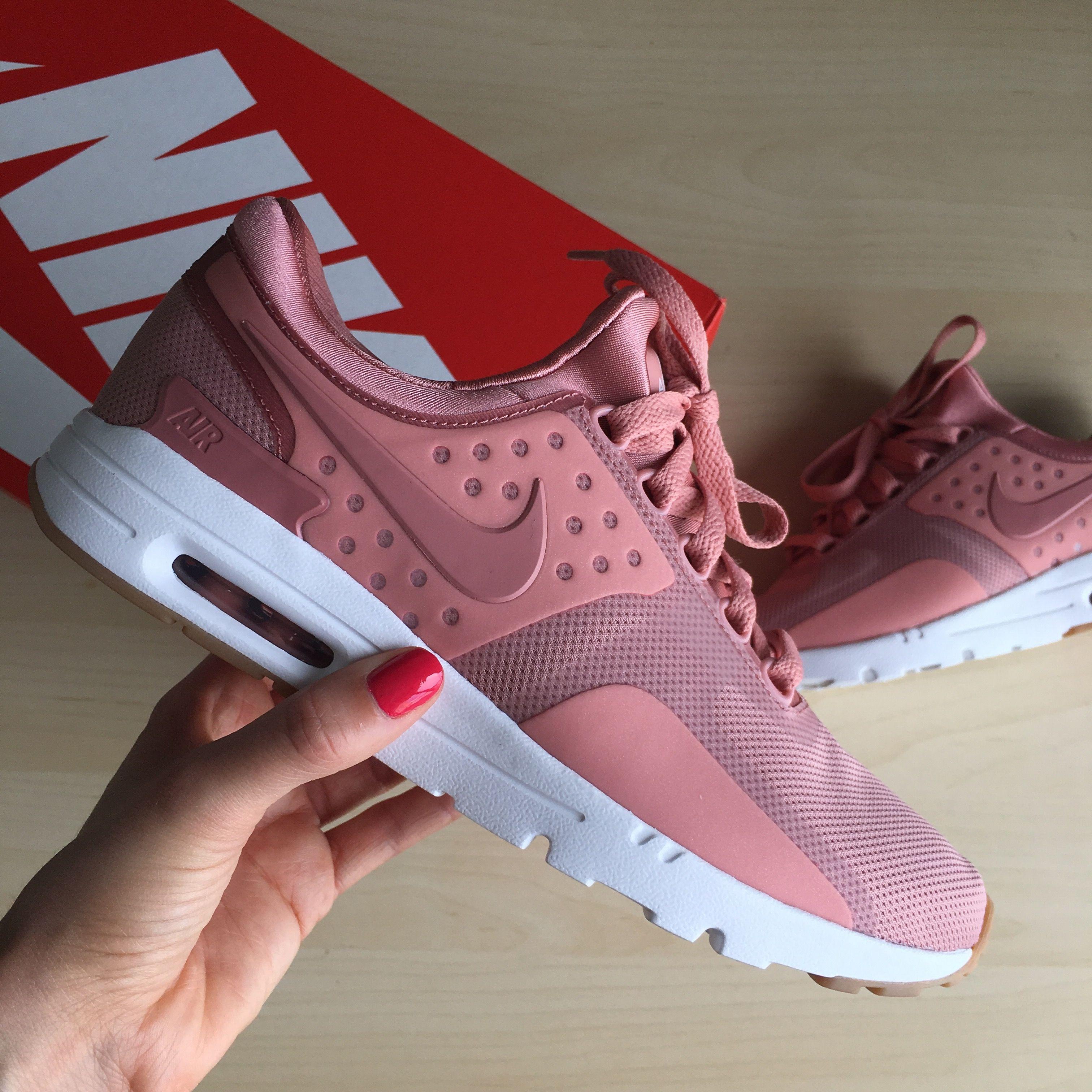 c6422cf85e4a ... red pink Air max zero rouge poussière détoileRed stardust Nike ...