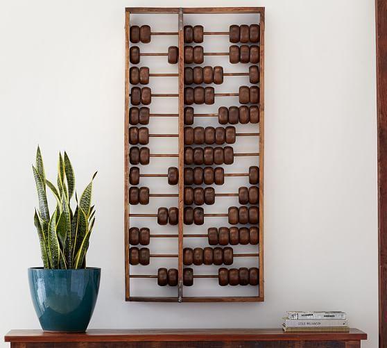 oversized abacus wall art pottery barn249