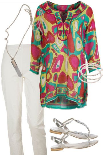 Summer Mix Outfit includes Vigorella, Misano Shoes, and Nest Picks at Birdsnest Fashion